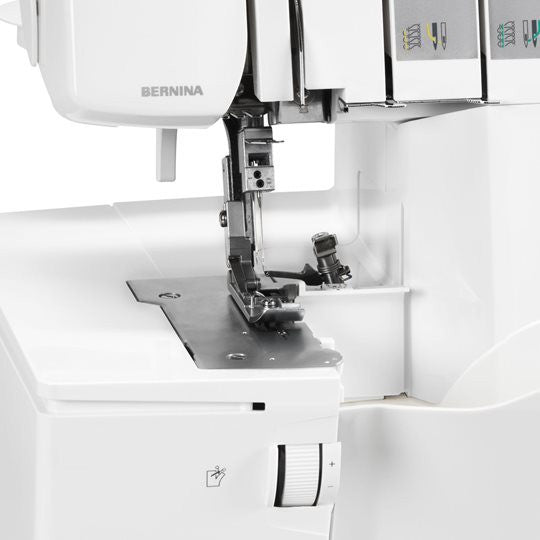 close up of Bernina L450 overlocker from Jaycotts Sewing Supplies