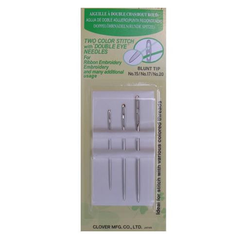 Double Eye Needles (Blunt Point) from Jaycotts Sewing Supplies