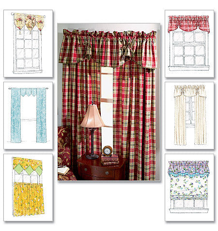 M4408 Window Essentials: Valances & Panels