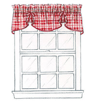 M4408 Window Essentials: Valances & Panels from Jaycotts Sewing Supplies