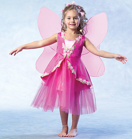 M4887 Girls' Fairy Costumes
