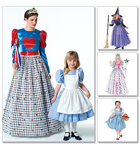 M4948 Misses'/Girls' Magical Storybook Costumes