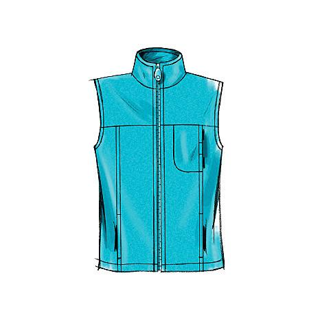 M5252 Misses/Men's Unlined Vest & Jackets