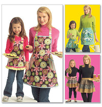 M5720 Misses'/Girls' Aprons from Jaycotts Sewing Supplies