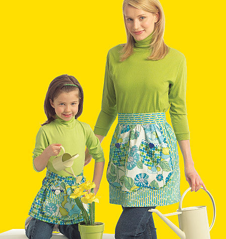 M5720 Misses'/Girls' Aprons
