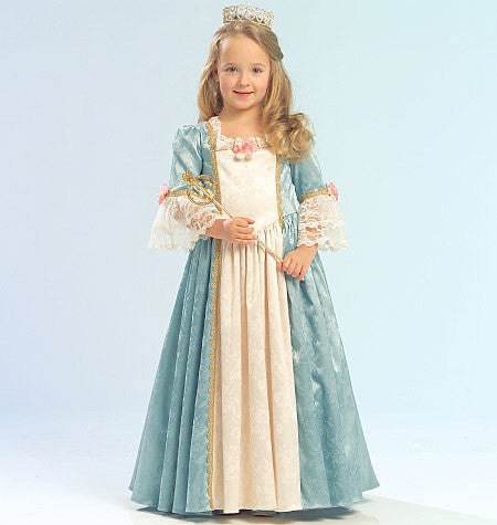 M5731 Misses'/Girls' Princess Costumes