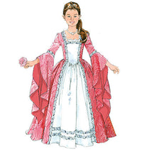 M5731 Misses'/Girls' Princess Costumes from Jaycotts Sewing Supplies