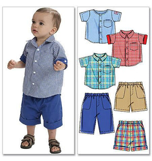 M6016 Infants' Shirts, Shorts & Pants from Jaycotts Sewing Supplies
