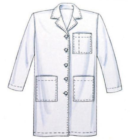 McCall\'s Pattern: M6107 Misses\'|Men\'s Lab Coat, Dress, Top, Pull-On ...