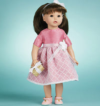 "M6137 Doll Clothes For 18"" Doll from Jaycotts Sewing Supplies"