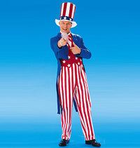 M6143 Adults'/Boys'/Girls' USA Patriot Costumes