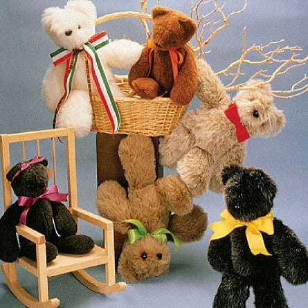 M6188 Stuffed Animals from Jaycotts Sewing Supplies