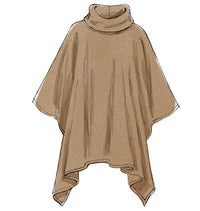 M6209 Misses' Ponchos & Belt from Jaycotts Sewing Supplies
