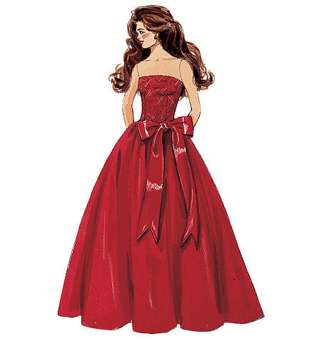 M6232 Fashion Doll Clothes from Jaycotts Sewing Supplies
