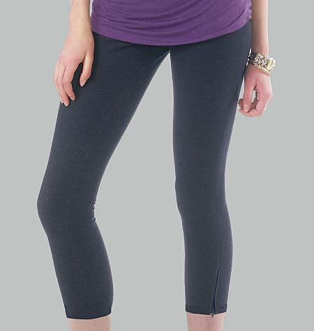 M6360 Misses'/Women's Leggings In 4 Lengths
