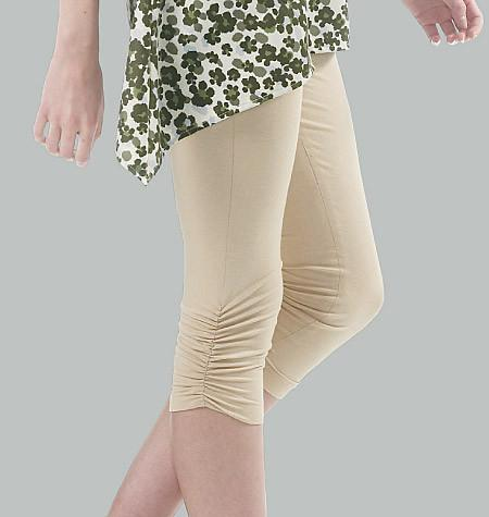M6360 Misses'/Women's Leggings In 4 Lengths from Jaycotts Sewing Supplies
