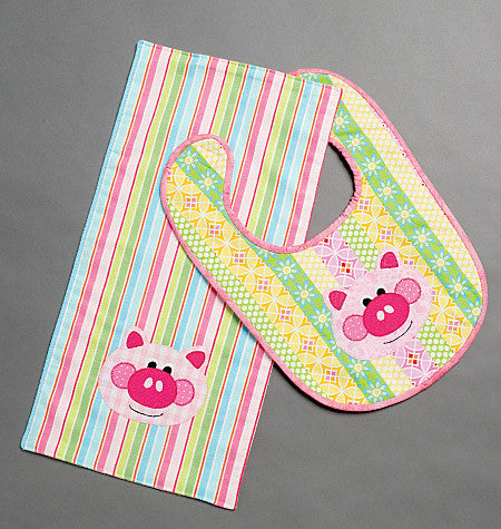 M6478 Bibs & Burp Cloths