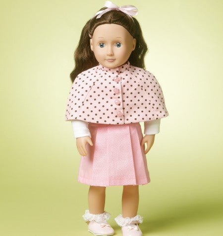 "M6526 18"" Doll Clothes from Jaycotts Sewing Supplies"