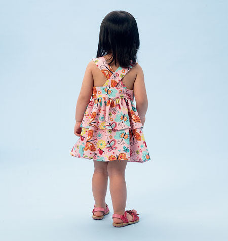 M6944 Toddlers' Top, Dresses, Rompers & Panties | Easy