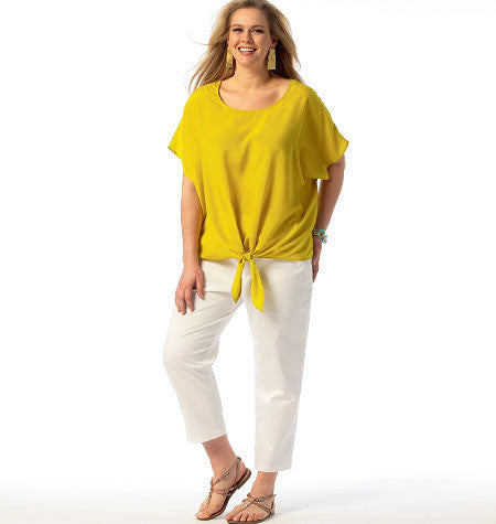 M6971 Women's Top, Tunic, Dress, Shorts & Pants | Easy