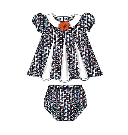 M7177 Infants Dresses and Panties