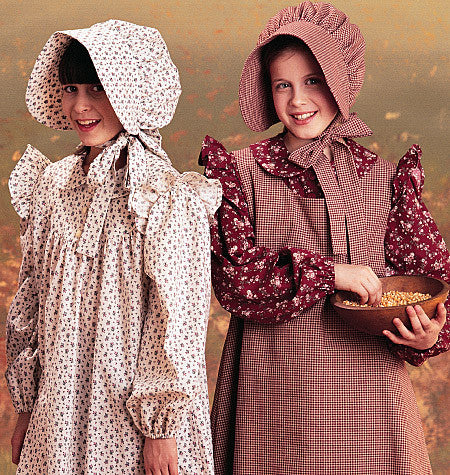 M7231 Girls' Pioneer Costumes