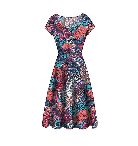 M7313 Misses'/Women's Flared Dress