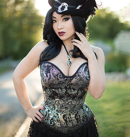 M7339 Misses' Overbust | Underbust Corsets By Yaya Han