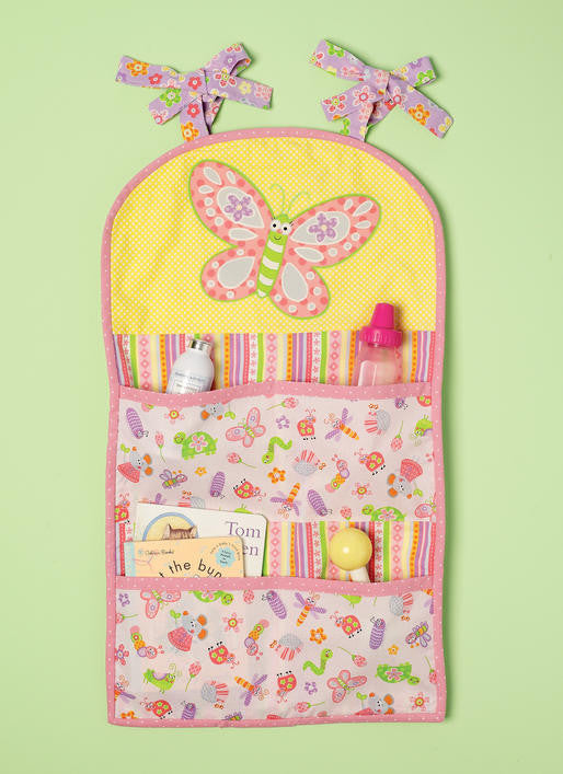 M7372 Nursery blanket, pillow & organising accessories