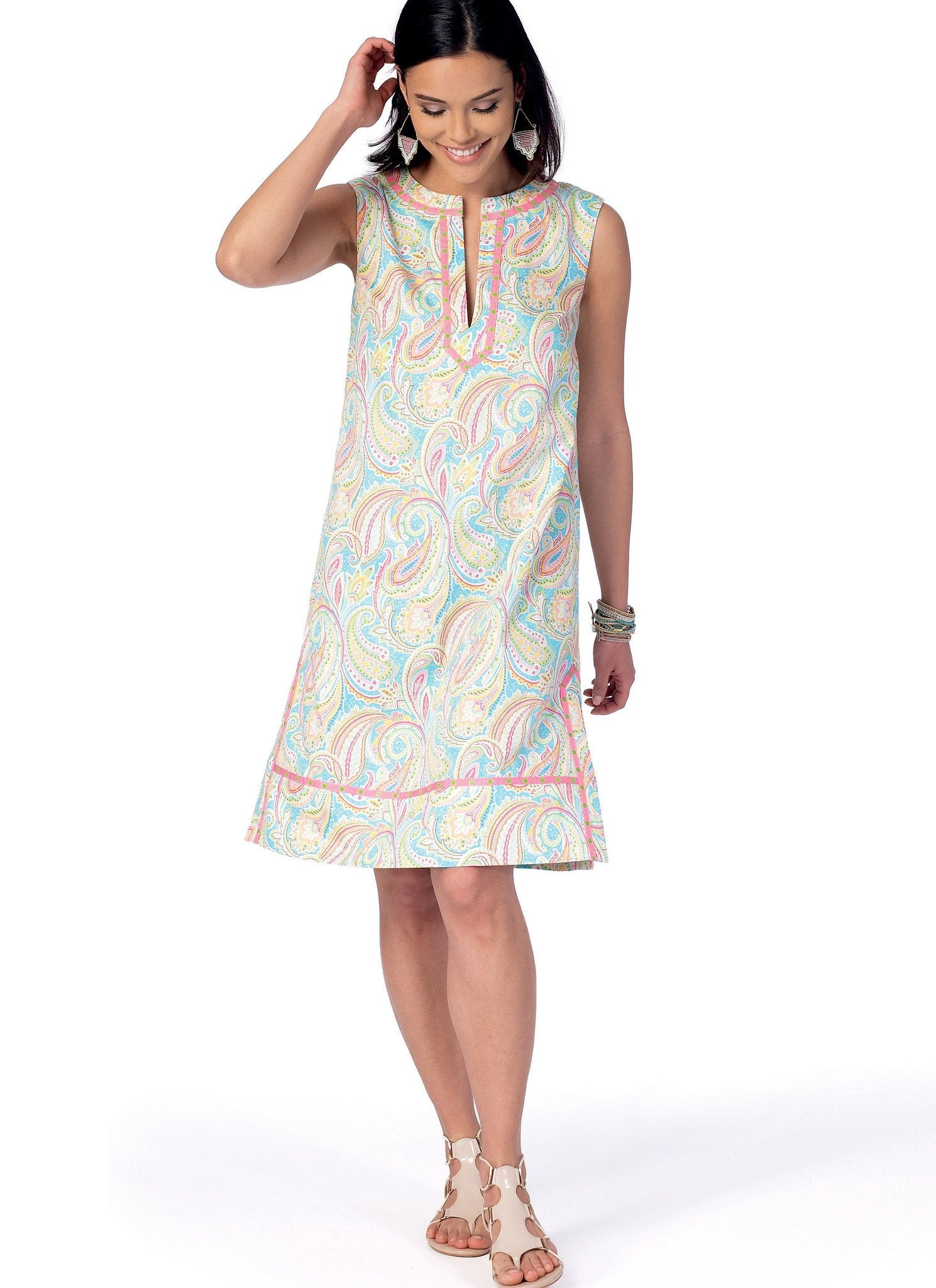 M7408 Tunic and Dresses McCalls pattern
