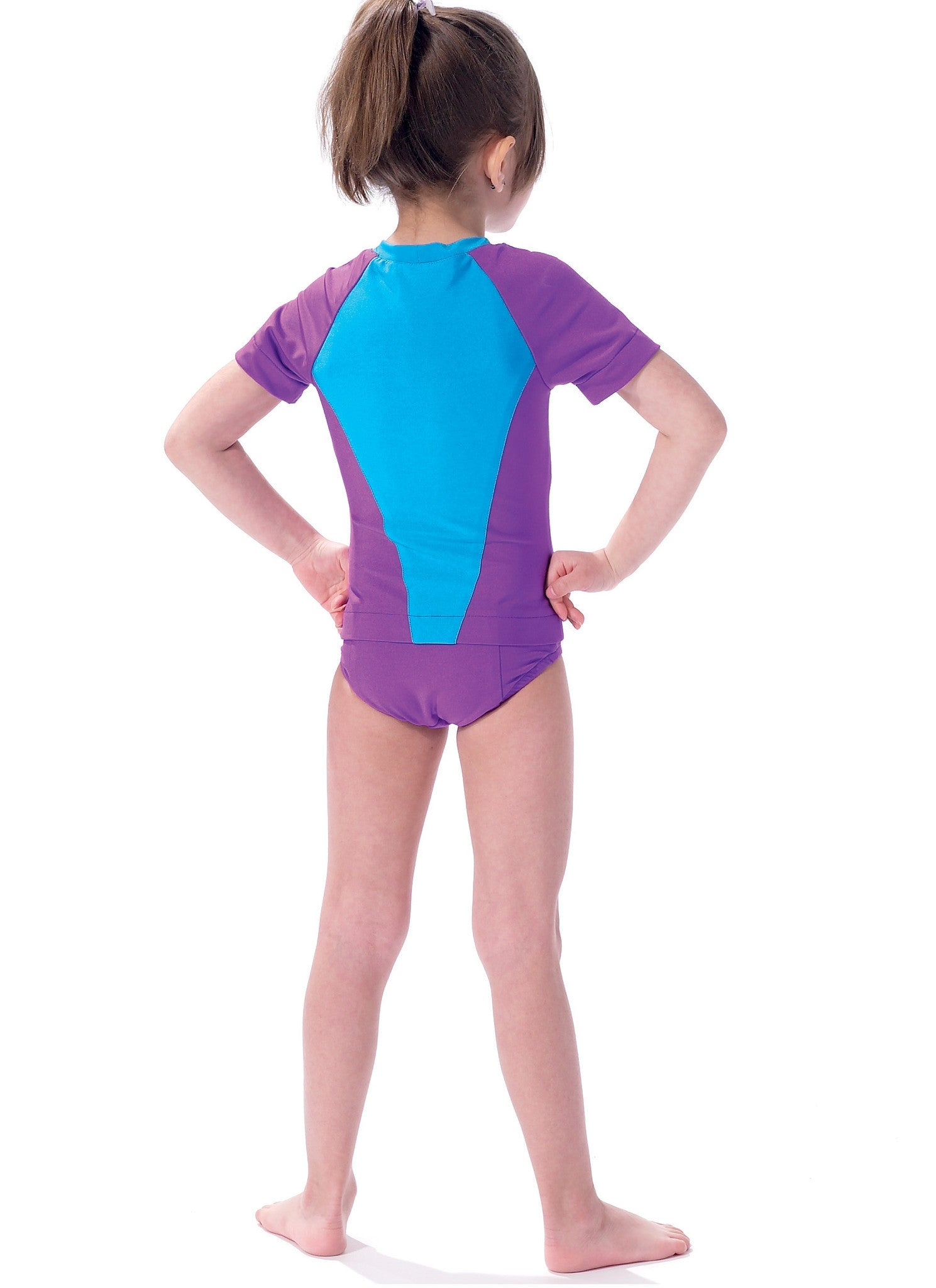 M7417 Misses / Girls Swimsuits McCalls pattern