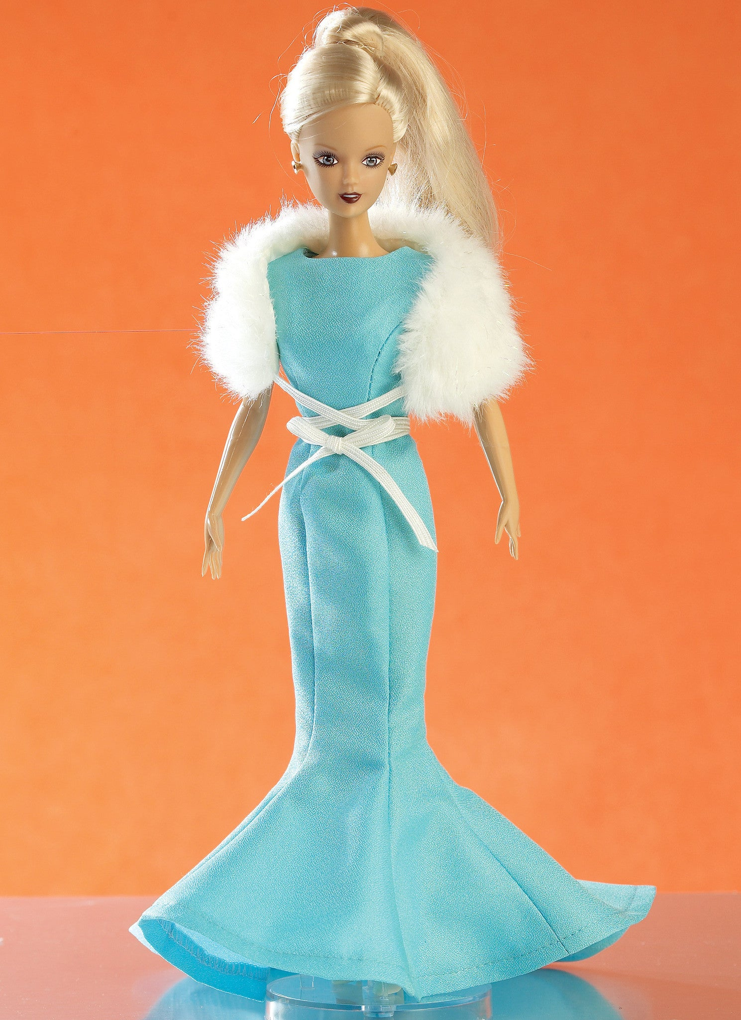 "M7520 Gowns, Stole, Dresses, Coats and Hat for 11& 12"" Doll"