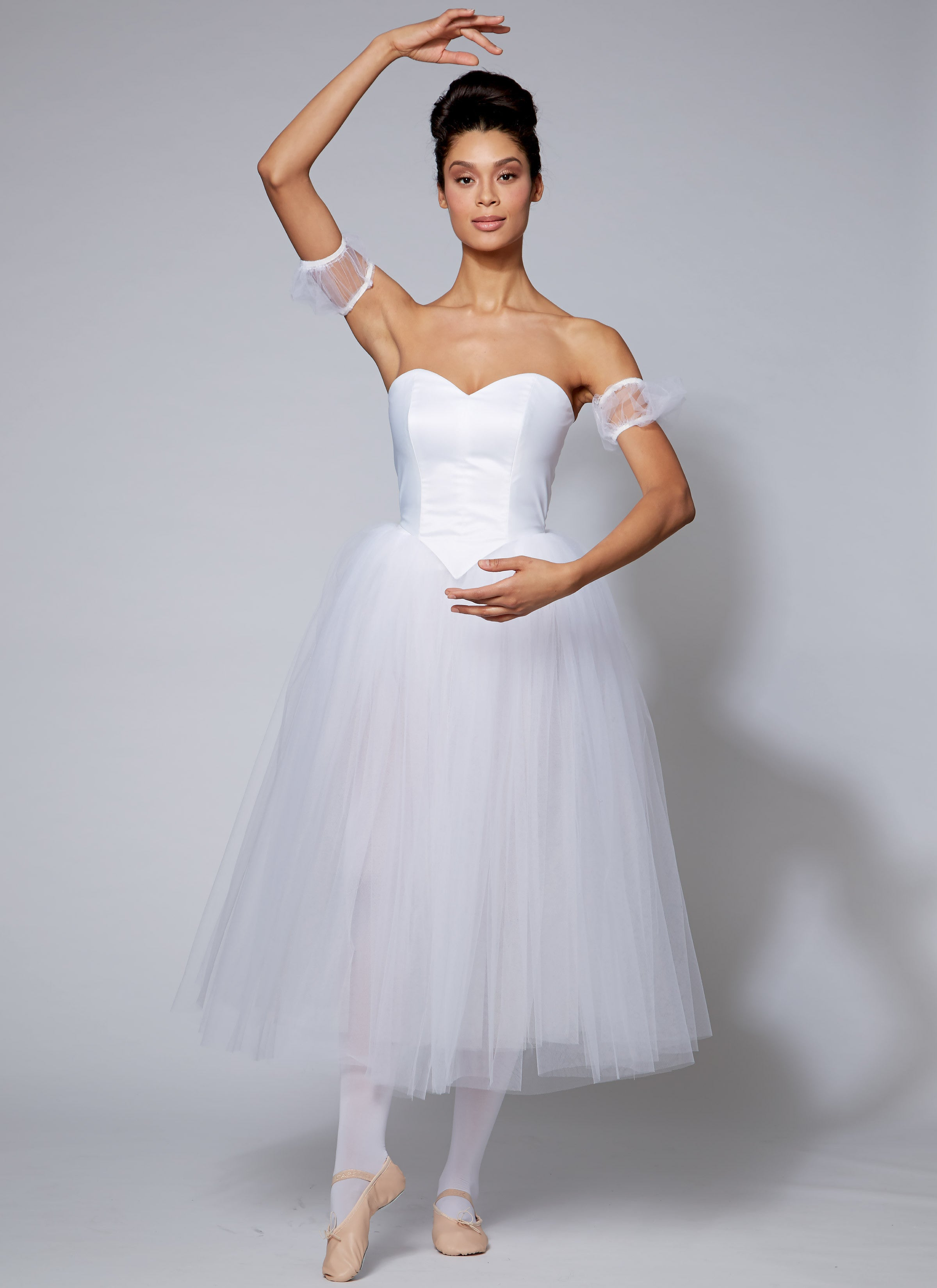 Beautiful ballerina dress sewing pattern 7615