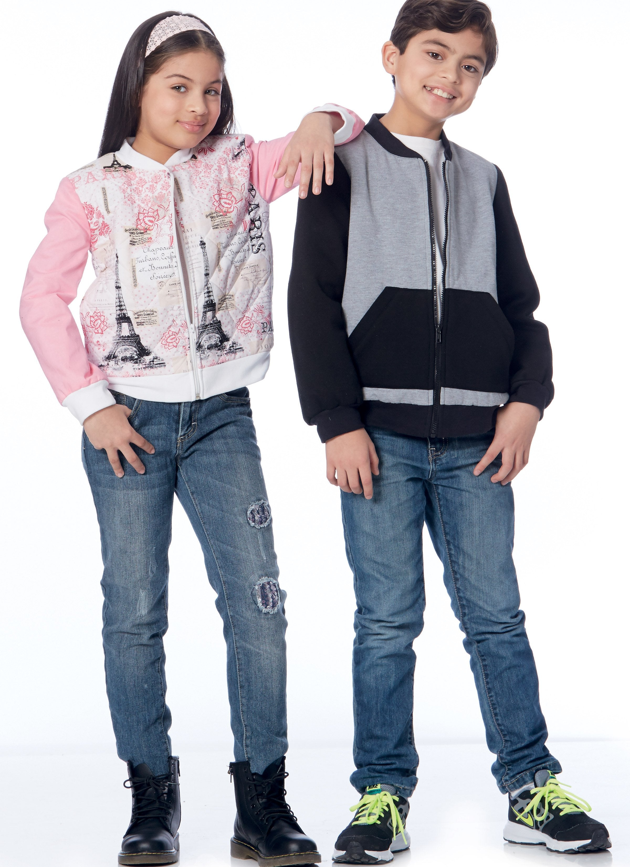 M7619 Girls' / Boys' Bomber Jackets