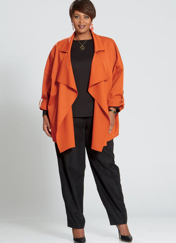 M7635 Misses'/Women's Top, Dress, Pants, and Jacket
