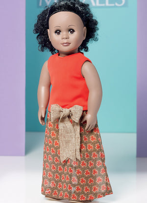 "M7639 Clothes for 18"" Dolls"