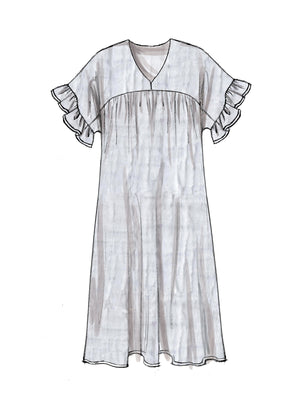 M7742 Misses' Dresses Sewing Pattern