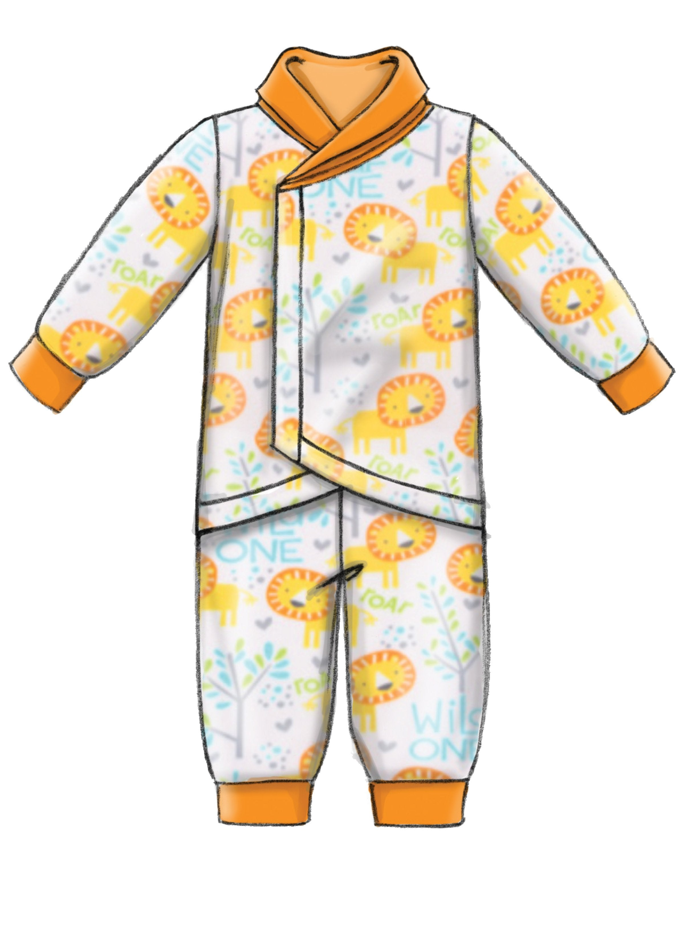M7827 Infants Bunting, Jacket, Vest, Pants and Hat