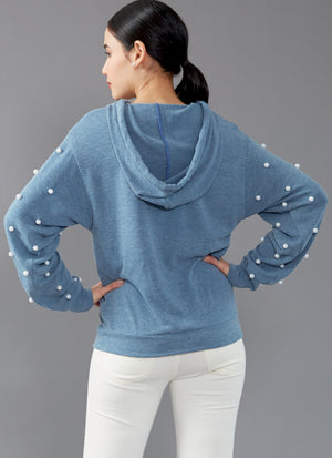 M7839 Misses' Tops Sewing Pattern