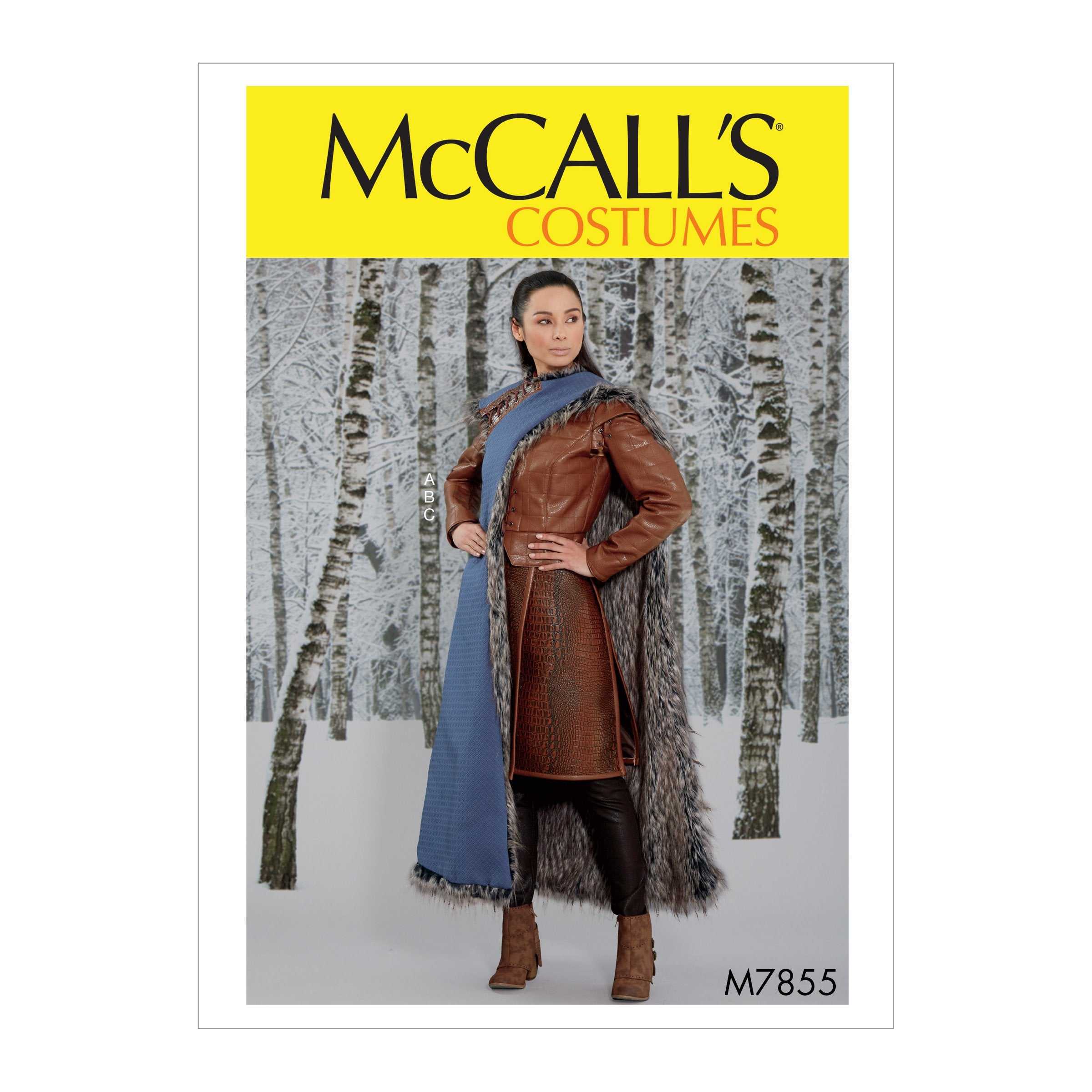 M7855 Misses' costume pattern