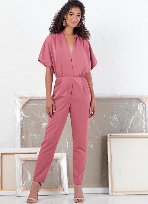 M7872 Misses' Romper and Jumpsuit from Jaycotts Sewing Supplies