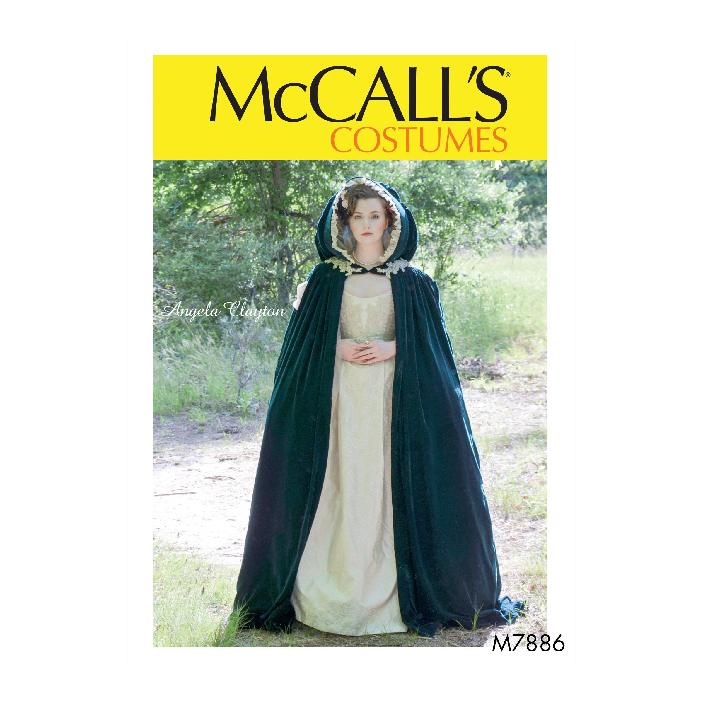 M7886 Misses' Historical Costume Sewing Pattern