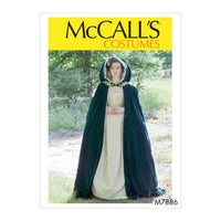 M7886 Misses' Historical Costume Sewing Pattern from Jaycotts Sewing Supplies