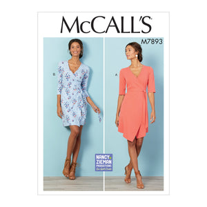 M7893 Misses/Women's Dresses | Nancy Zieman