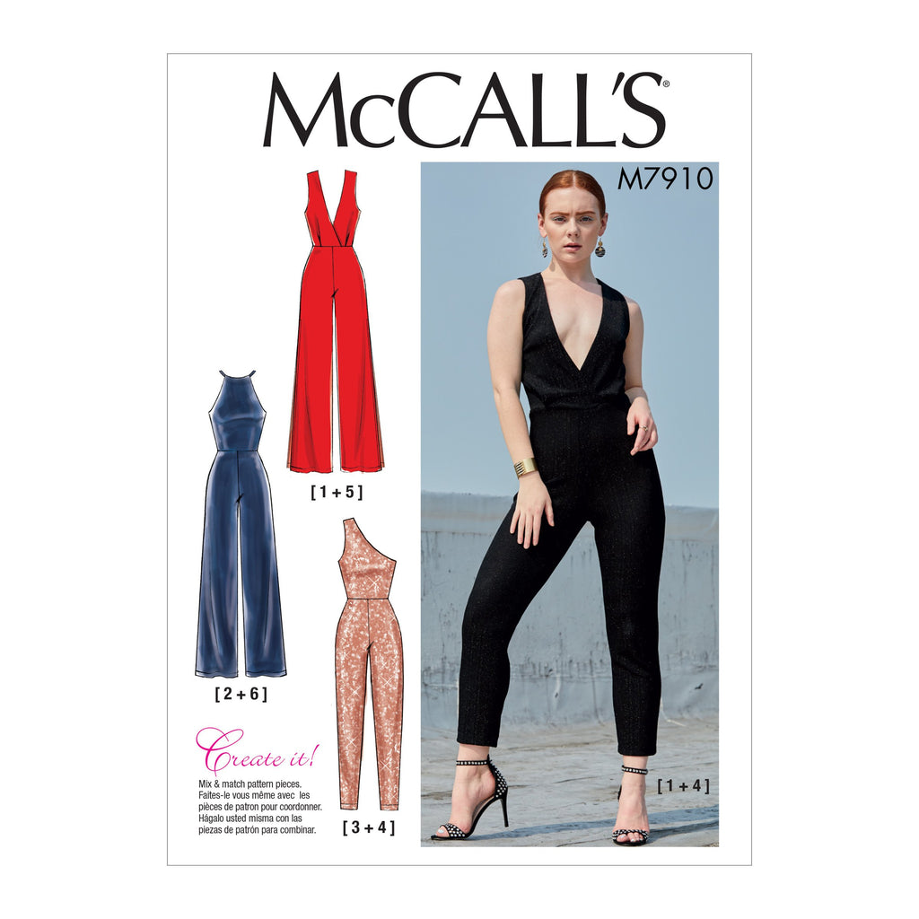 M7910 Misses' Jumpsuits | Create It! Pattern