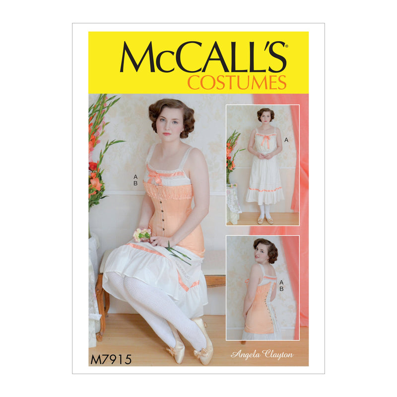 M7915 Misses' Costume Pattern | Angela Clayton from Jaycotts Sewing Supplies