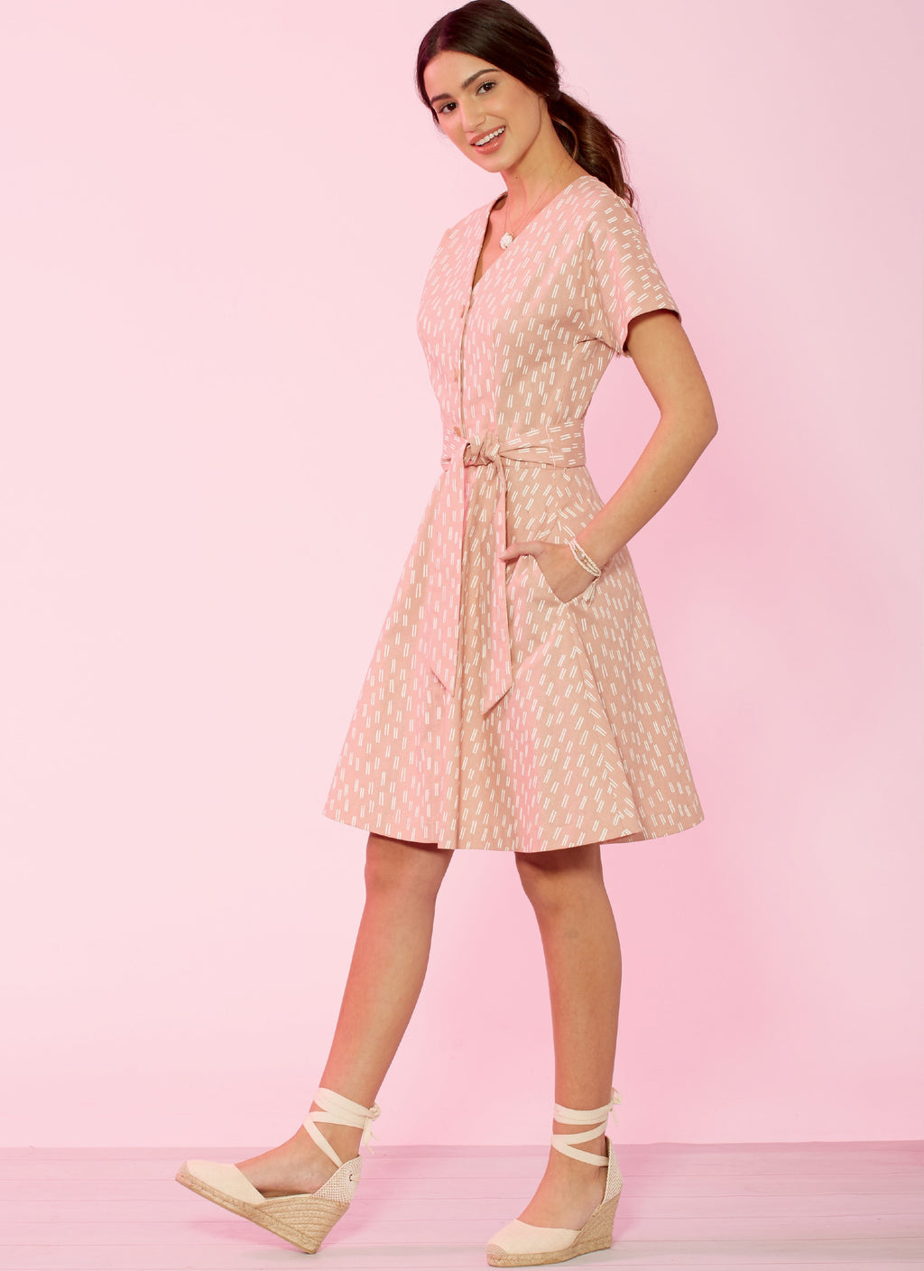 McCall's 7920 Misses'/Miss Petite Dresses and Belt