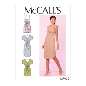 McCall's 7922 Misses' Dresses Pattern from Jaycotts Sewing Supplies