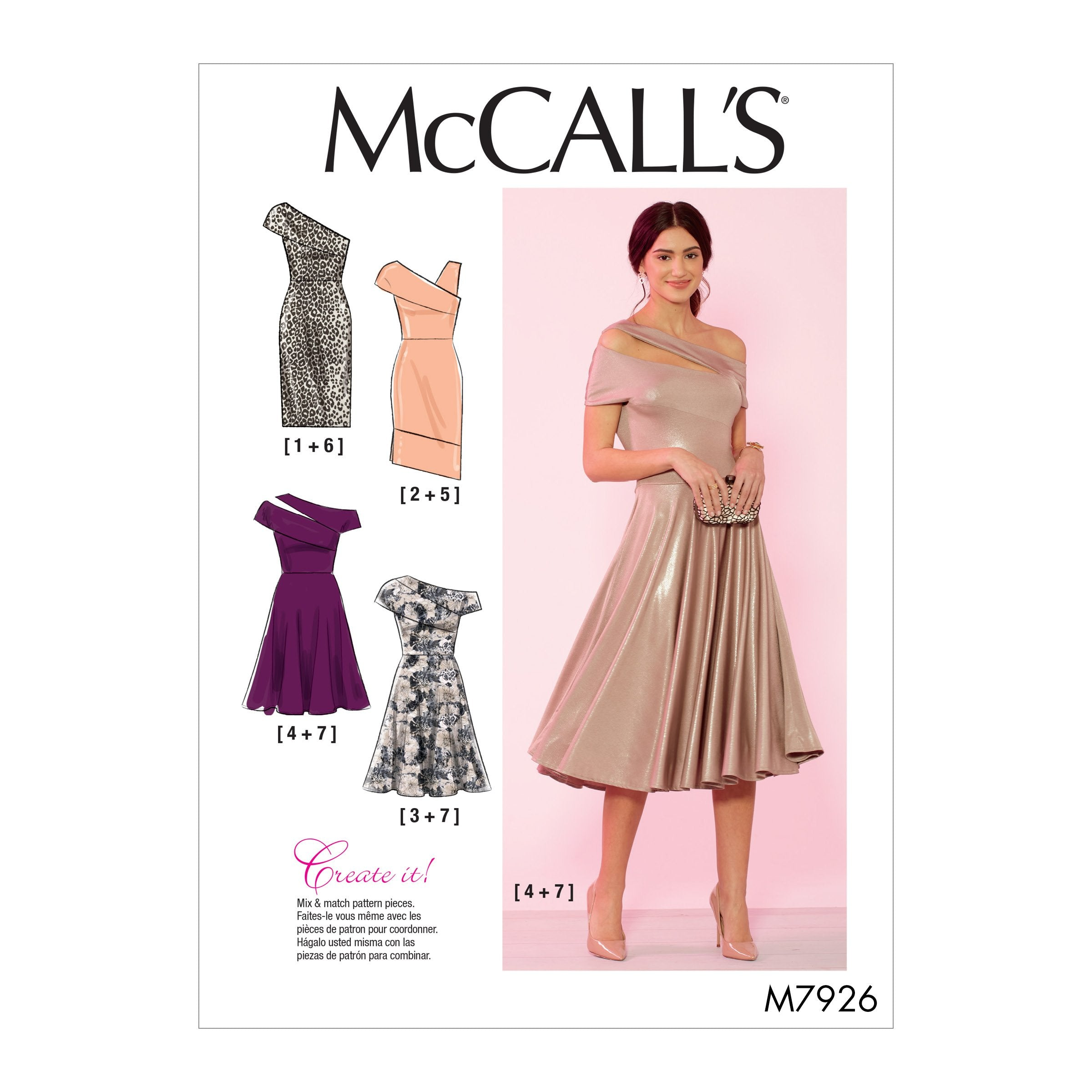 McCall's 7926 Special Occasion Dresses Pattern