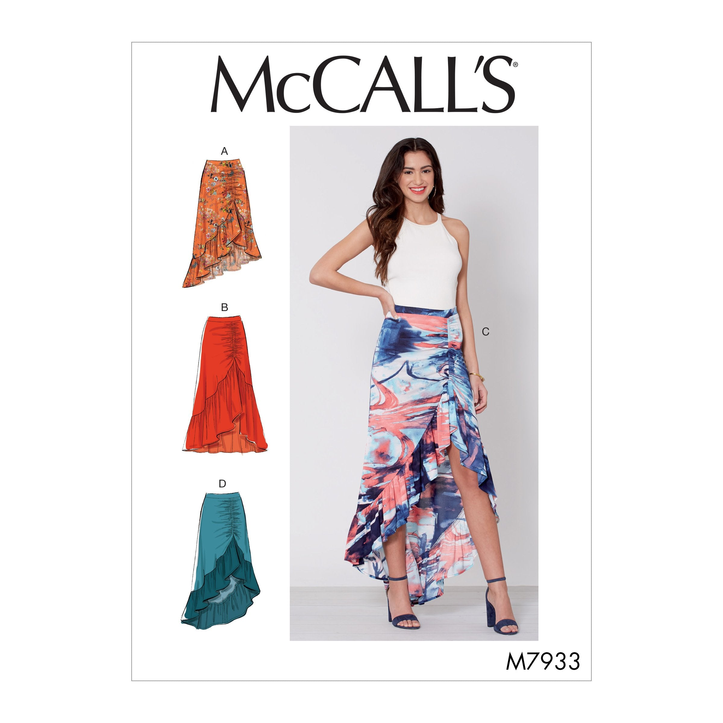 McCall's 7933 Misses' Skirts